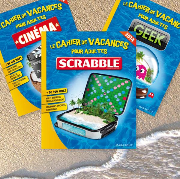 Cahiers de vacances Scrabble©  - 2014